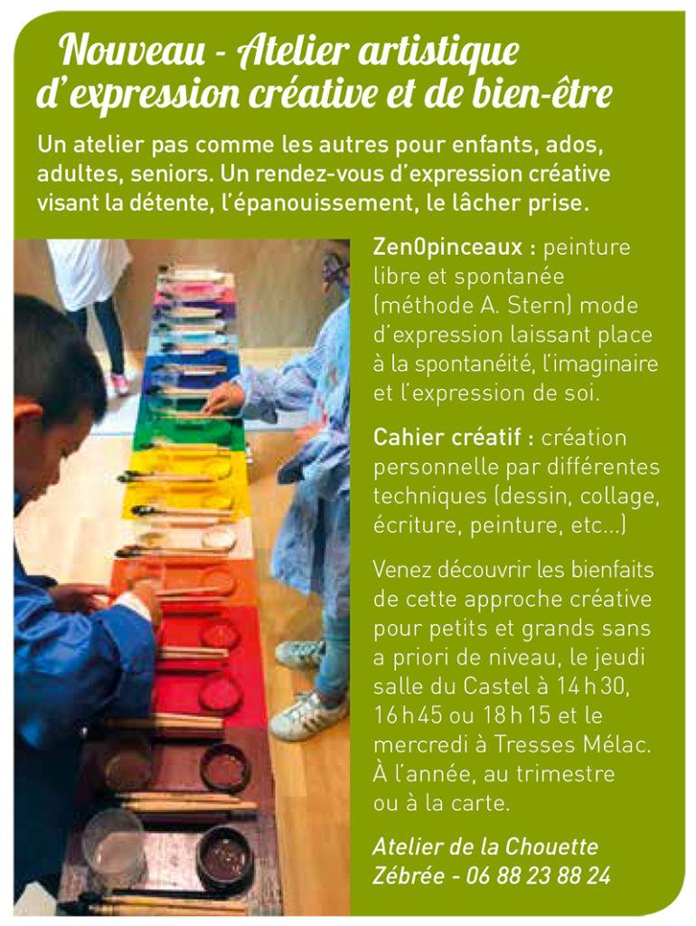 Presse ateliers Bouliac