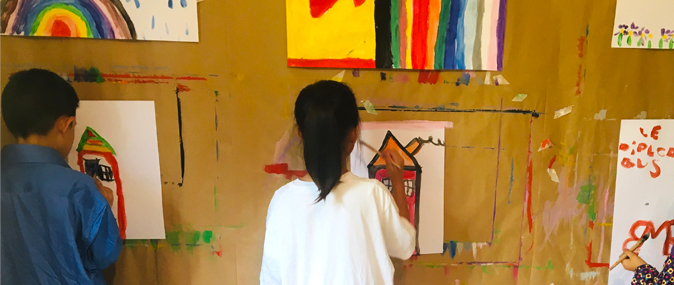Ateliers ZenOpinceaux, ateliers de peinture en toute liberté avec des enfants