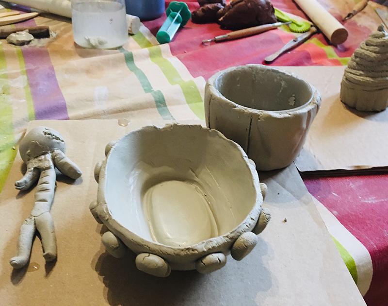 Atelier modelage de la Chouette Zebrée